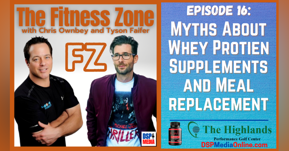 Ep16: Myths About Whey Protein Supplements And Meal Replacement