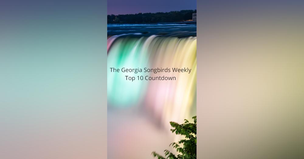 The Georgia Songbirds Weekly Top 10 Countdown week 52