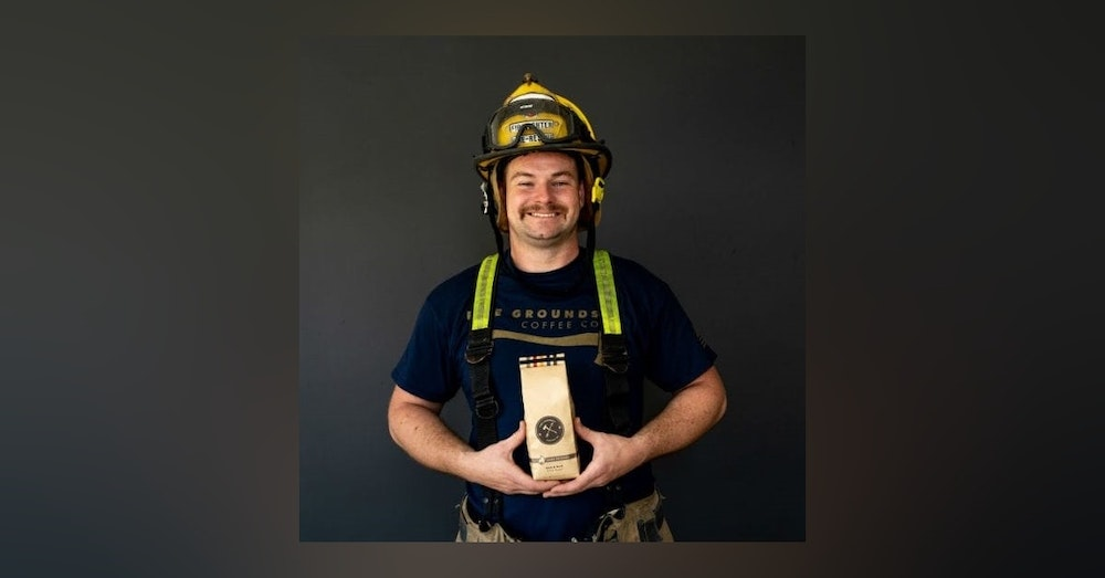 Firefighter Paul Clarke, The CEO Of Fire Grounds Coffee