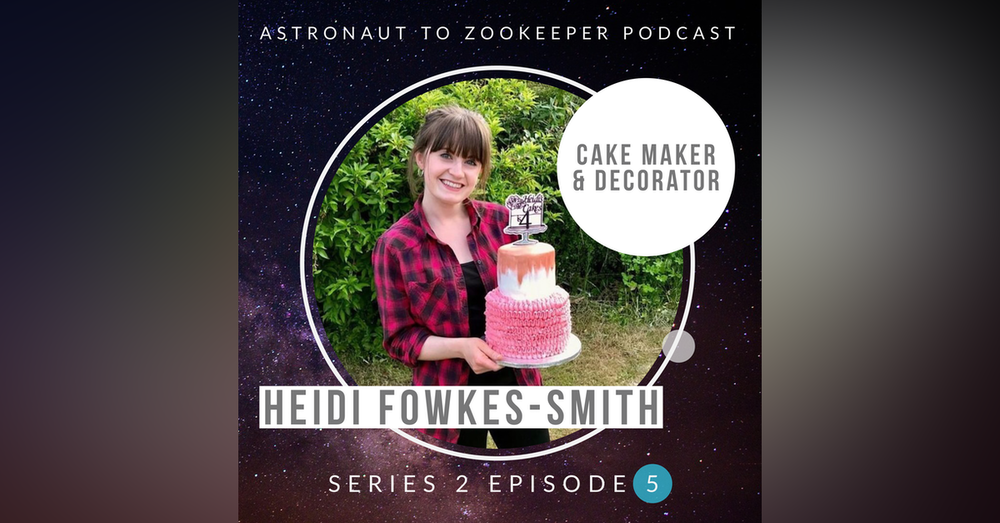 Cake Maker and Decorator - Heidi Fowkes-Smith