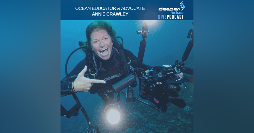 """Annie Crawley on the emotions of diving with the Humpbacks of Tonga, and the """"Mother of Sharks"""" on keeping it simple underwater"""