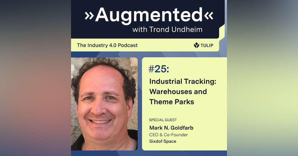Industrial Tracking: Drones, Warehouses and Theme Parks