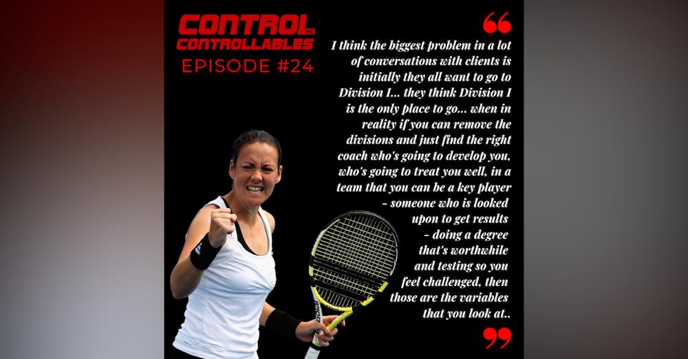 Episode 24: Sarah Borwell - The US College Guru!