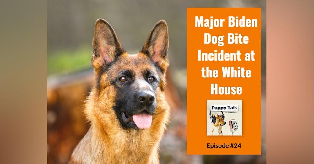 Major Biden Dog Bite Incident at the White House