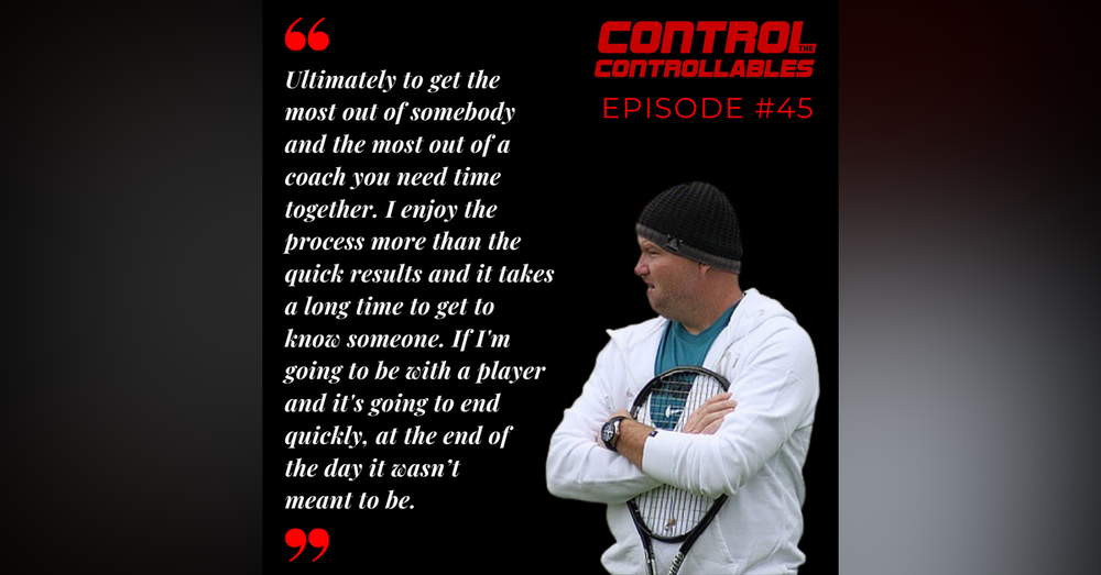 Episode 45: Michael Joyce - From top ATP player to top WTA Coach