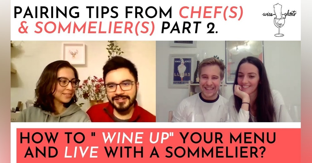 Ep. 41. / Red Wine Pairings & Living with a Sommelier / Wine Pairing Special Part 2.
