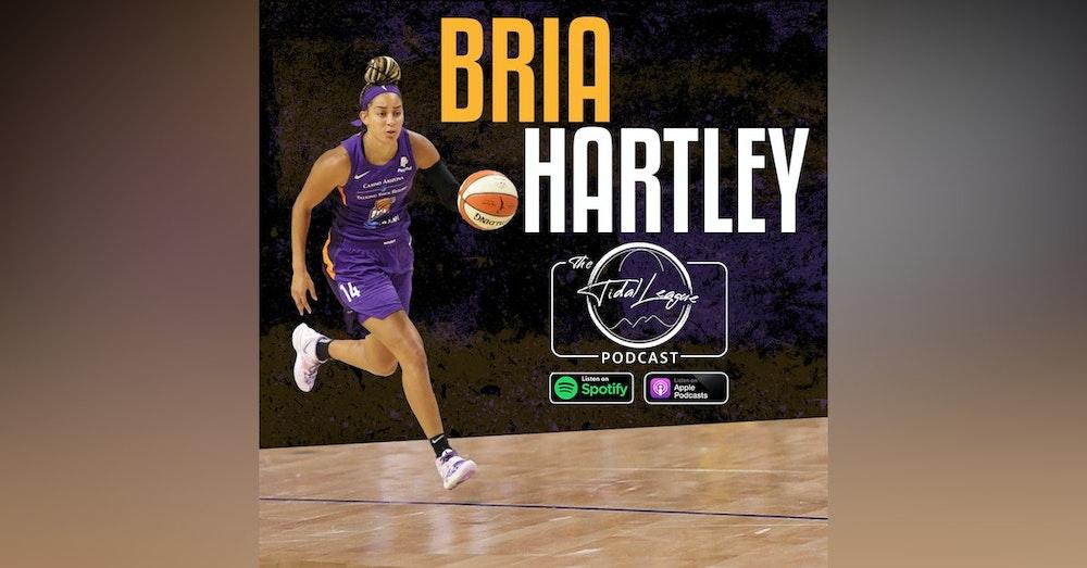 Bria Hartley | Playing for NCAA Powerhouse UConn | 2021 WNBA Season & Tokyo Olympics | Friendship with Drake