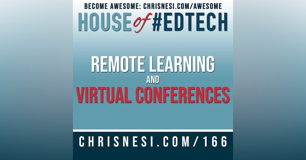 Remote Learning and Virtual Conferences - HoET166