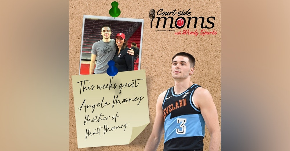 Angela Mooney and her son, Matt Mooney