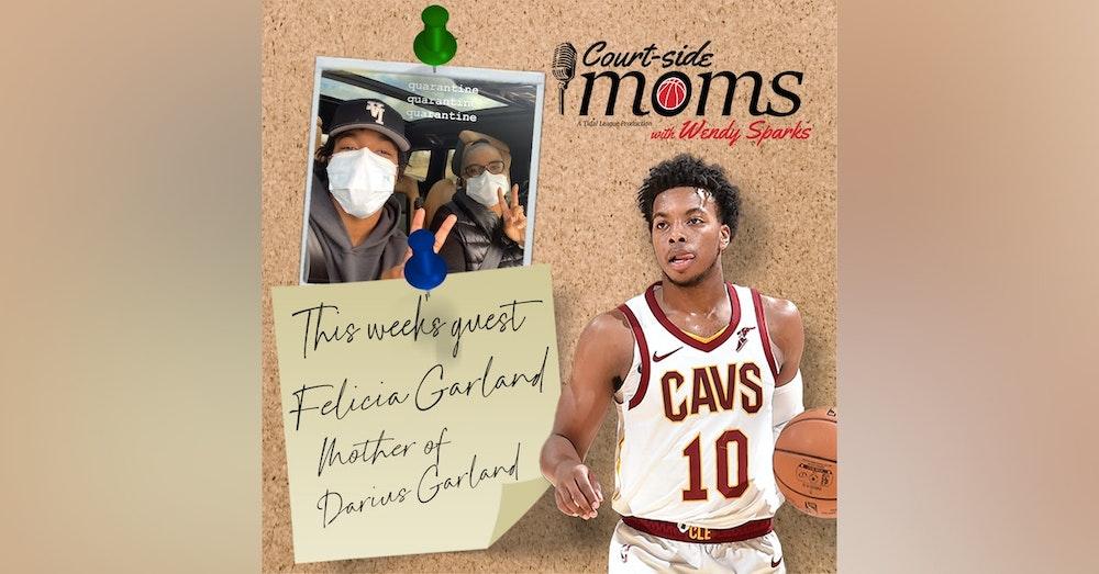 Darius Garland's mom, Felicia Garland