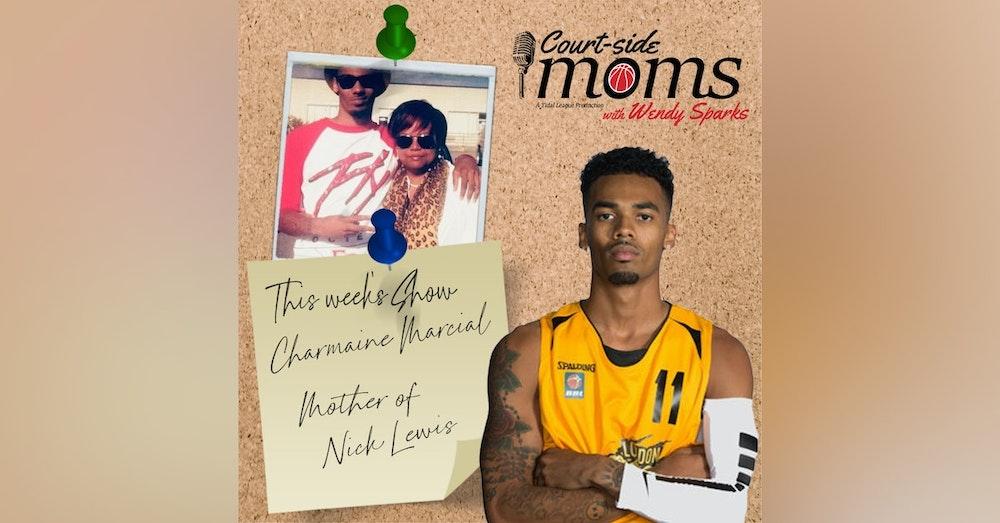 Nick Lewis' mom Charmaine Marcial