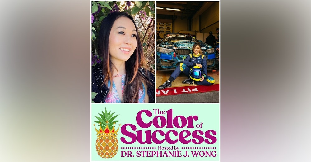 What does Pro Race Car Driving, Falsies, & Female Empowerment Have in Common? Samantha Tan