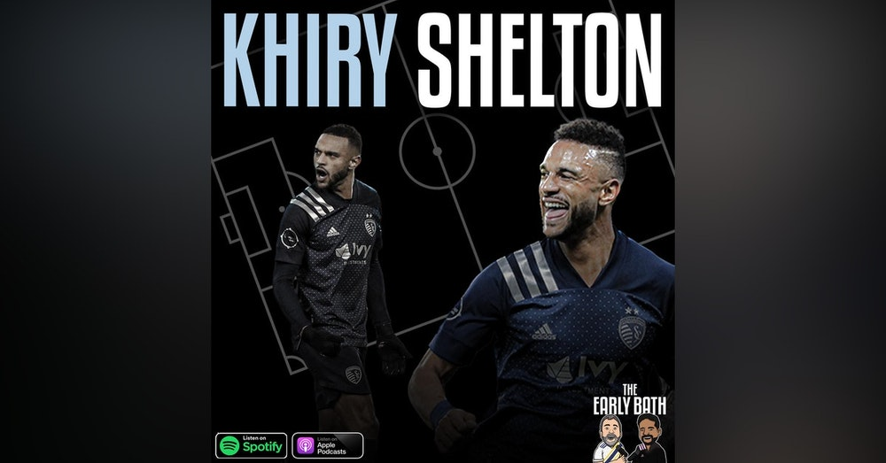 Khiry Shelton forward Sporting Kansas City