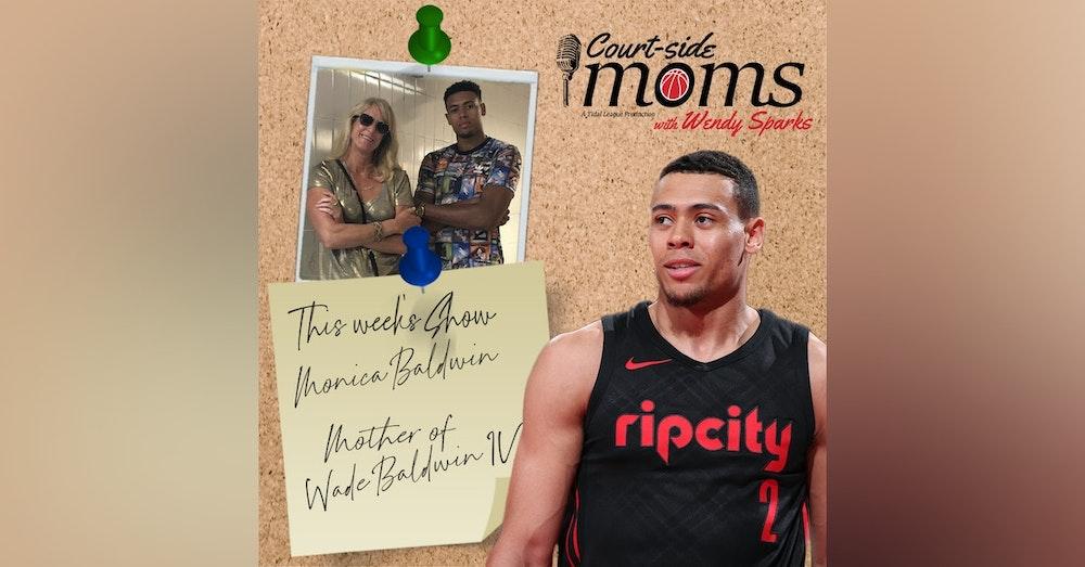 Wade Baldwin IV's mom Monica Baldwin