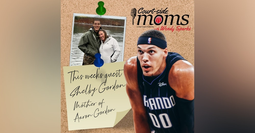 Aaron Gordon's mom Shelly Davis Gordon & Elise Gordon