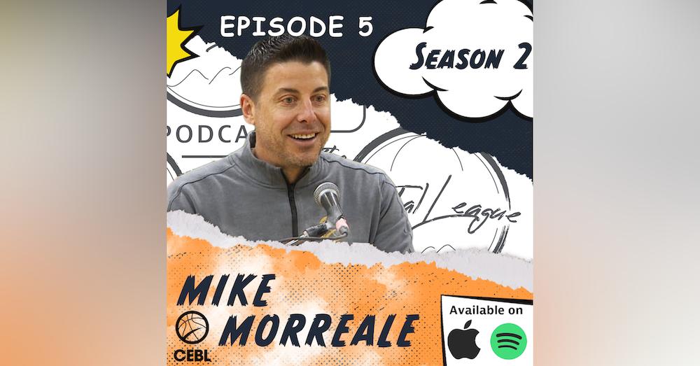 Mike Morreale| CEBL| Summer Series| Canada Basketball