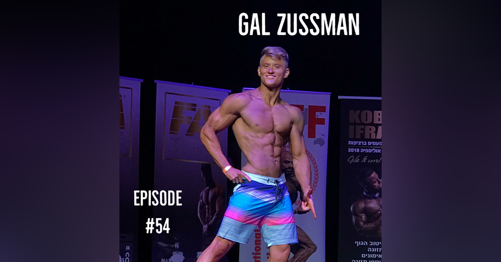 Competing in Bodybuilding and Fluency:  The Story of Gal Zussman