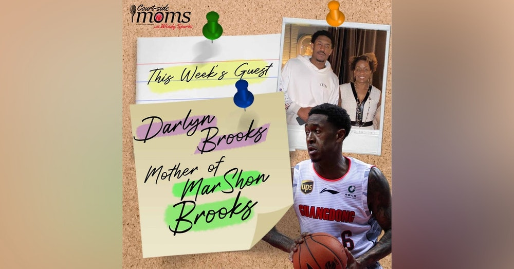 MarShon Brooks mom, Darlyn Brooks