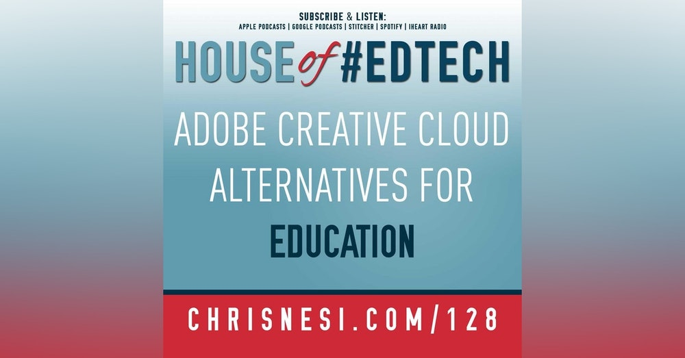 Adobe Creative Cloud Alternatives for Education - HoET128