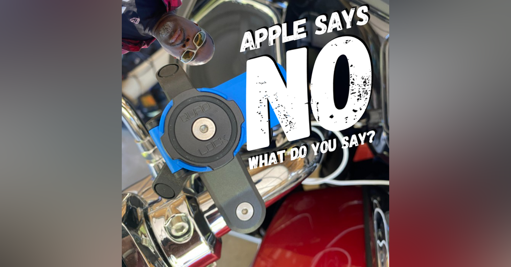 Have You Heard About the Apple No iPhones on Motorcycles Warning ?