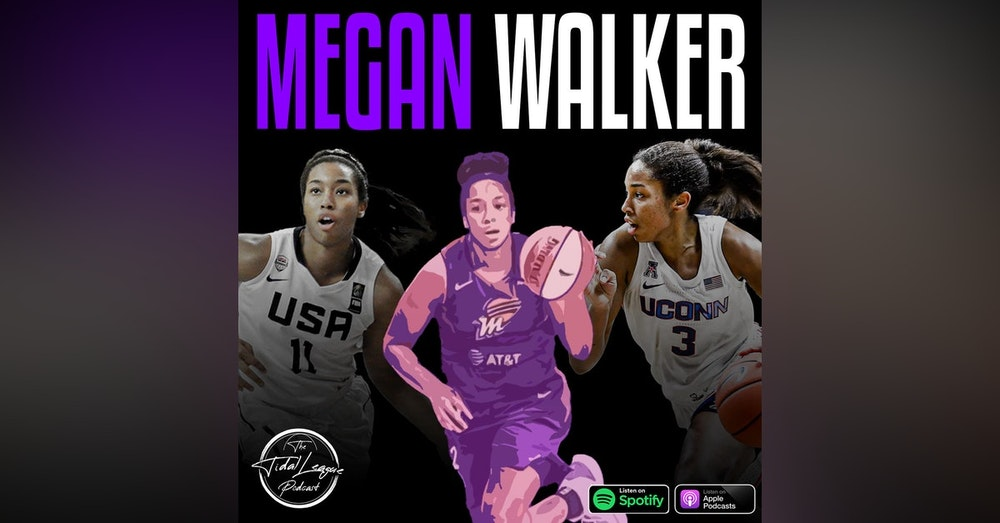 Megan Walker of the Phoenix Mercury