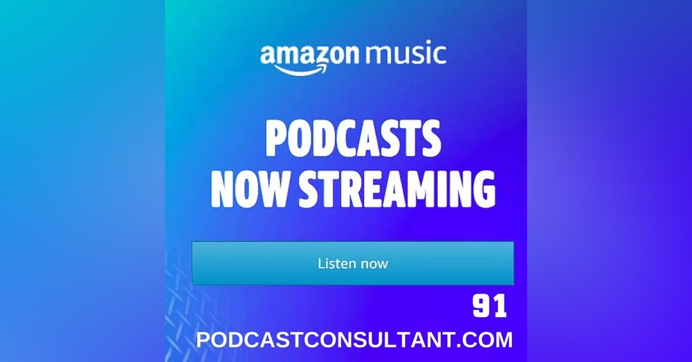 Another Reason to List Your Show in Amazon Music/Audible