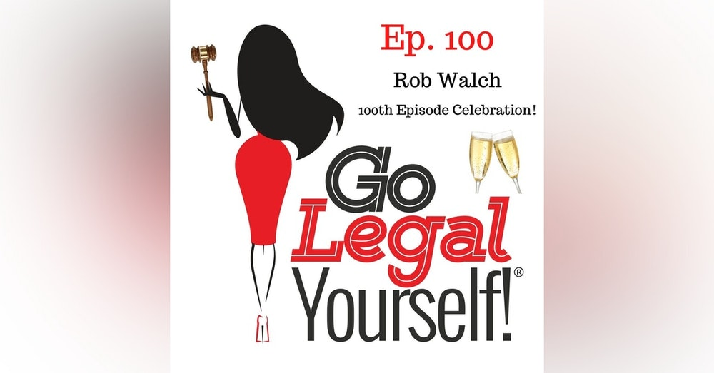 Ep. 100 Celebrating our 100th Episode with Rob Walch, VP of Podcaster Relations at Libsyn
