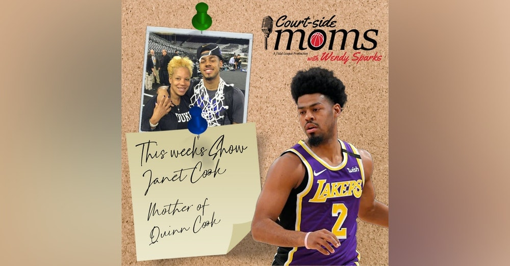 Quinn Cook's mom Janet Cook