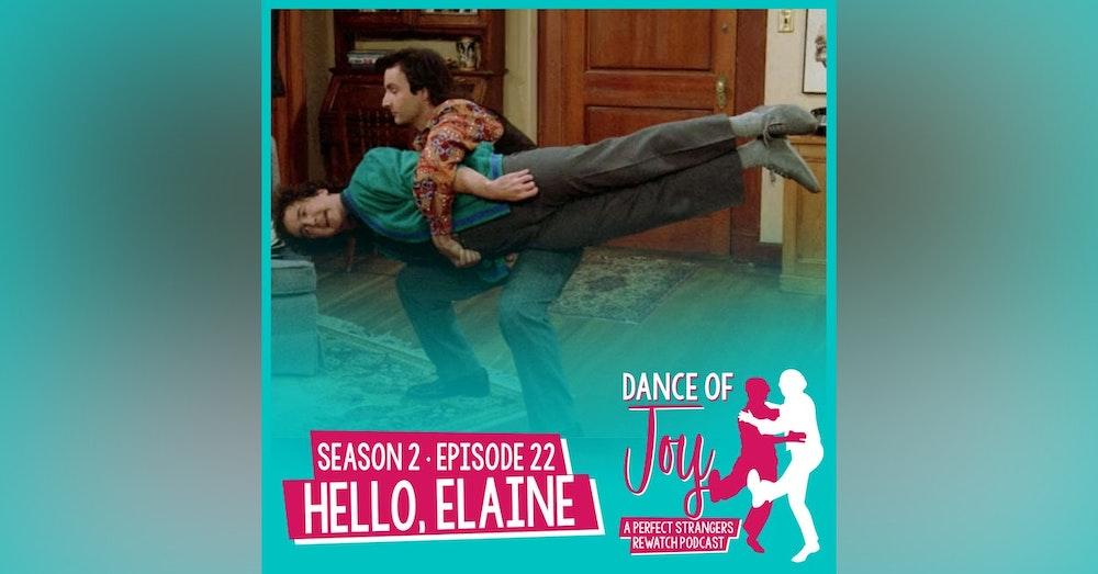 Hello, Elaine - Perfect Strangers Season 2 Episode 22