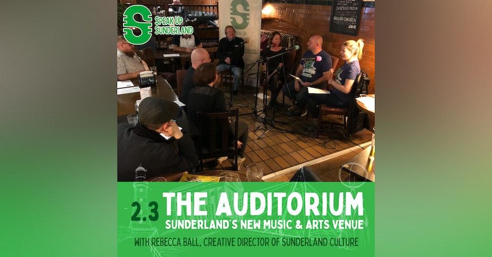 The Auditorium - Sunderland's New Music & Arts Venue