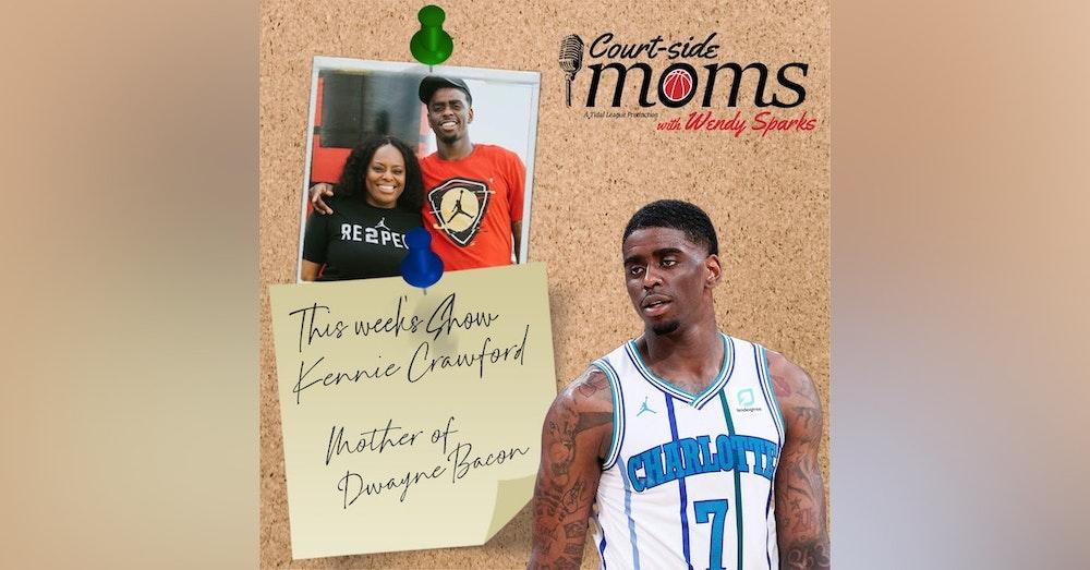 Dwayne Bacon's mom Kennie Crawford