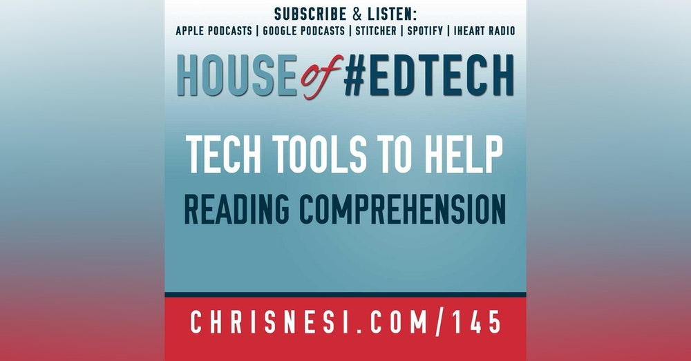 Tech Tools to Help Improve Reading Comprehension - HoET145
