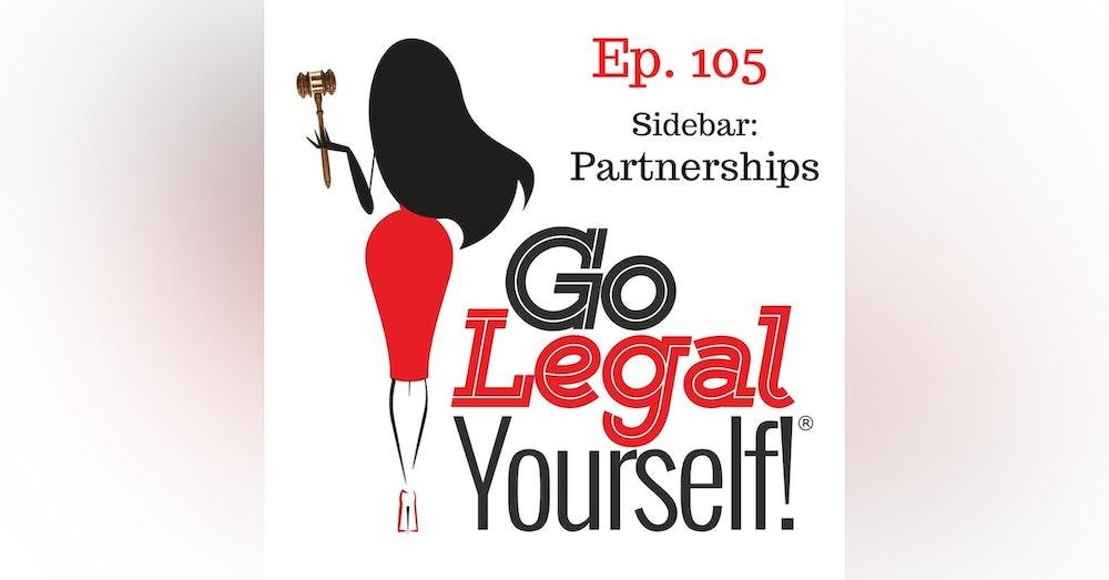 Ep. 105 Sidebar: Partnerships