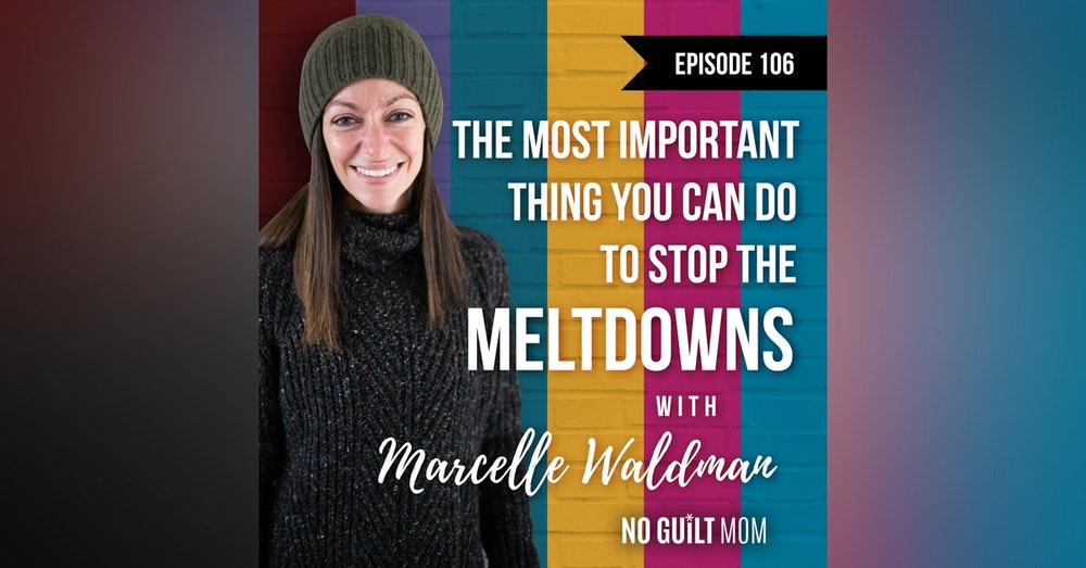 106 The Most Important Thing You Can Do To Stop The Meltdowns with Marcelle Waldman