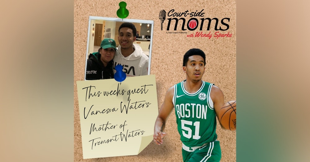Tremont Waters' mom, Vanessa Waters