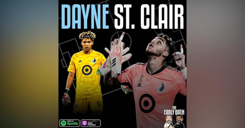 Dayne St. Clair Minnesota United FC goalkeeper
