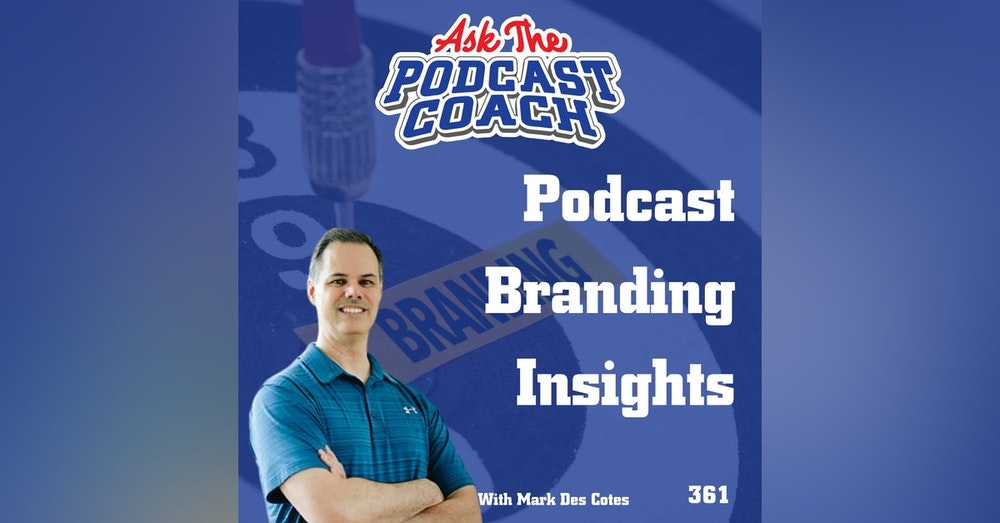 Podcast Branding Insights with Mark Des Cotes