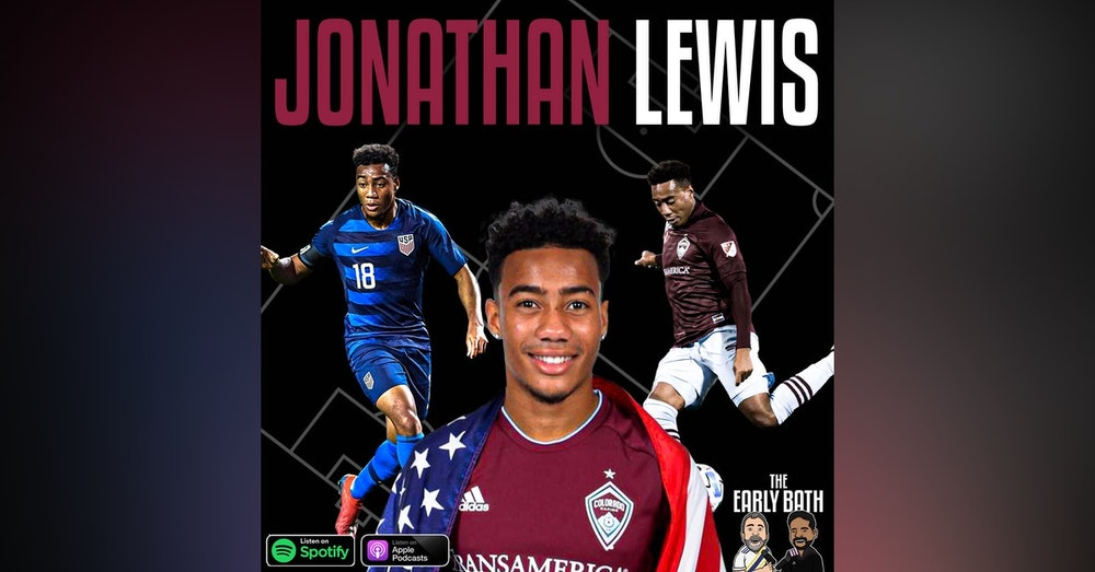 Jonathan Lewis Colorado Rapids forward and member of the USMNT