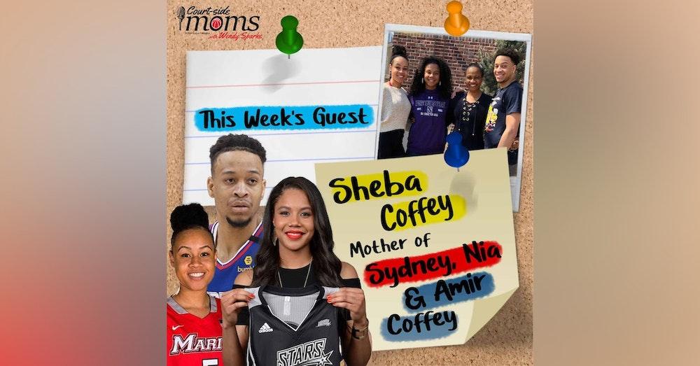 Sydney, Nia & Amir Coffey's mom, Sheba Coffey