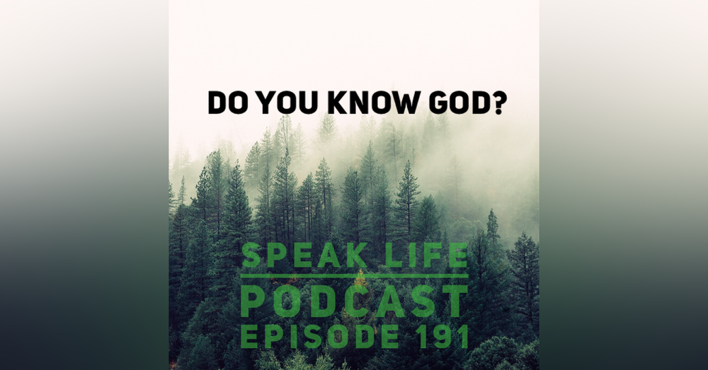 Do you know God or just of Him?