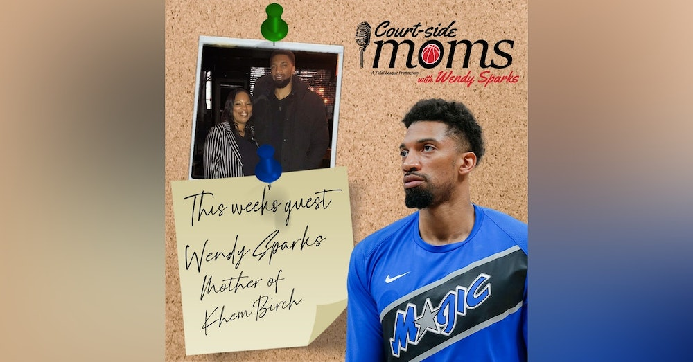 Khem Birch and his mom, Wendy Sparks
