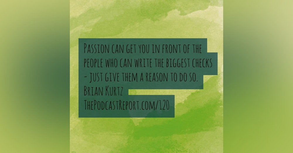 The Secret To Podcast Success Is Intention About Your Passion - An Interview With Brian Kurtz - The Podcast Report