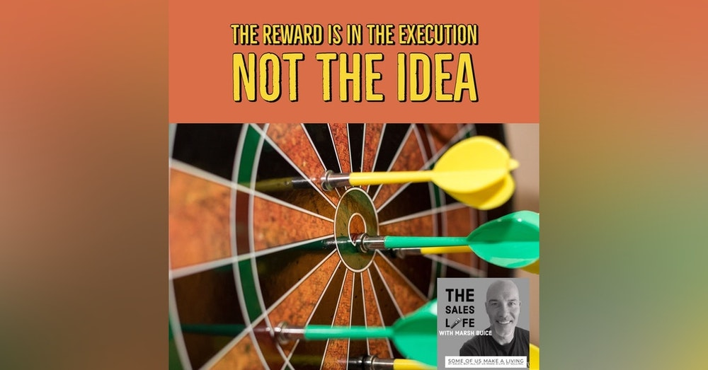 628. You get rewarded for the EXECUTION not the IDEA 💡