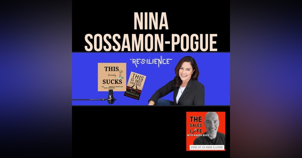 """636. """"Everyone has a story that is shaped by THIS moments."""" Nina Sossamon-Pogue author, speaker, Emmy winner & bad-ass individual."""