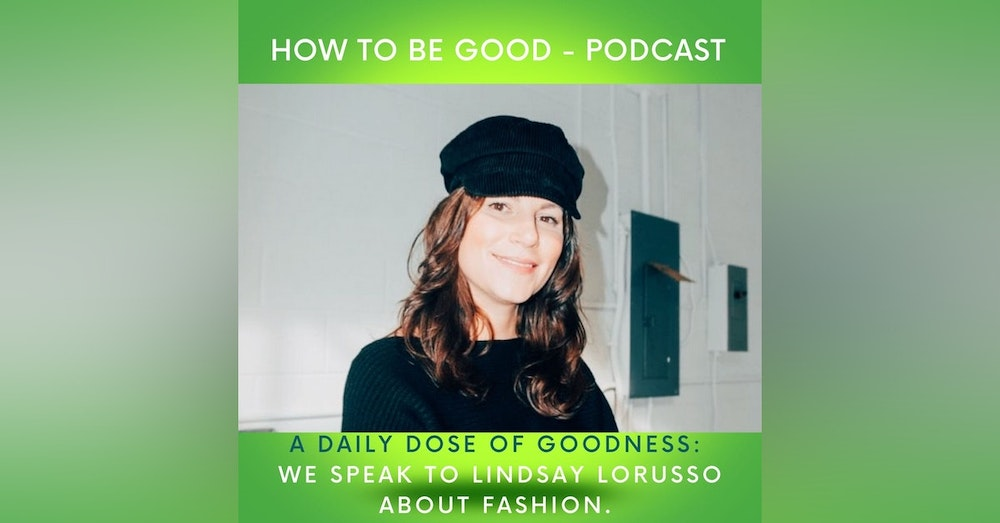 A daily dose of goodness: we speak to Lindsay Lorusso CEO and Founder of Nudnik Clothing