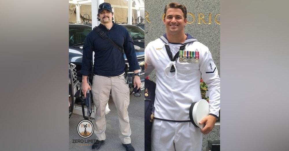Ep. 4 - Zero Limits Podcast hosts Australian Veterans Matt & Shane pt 1