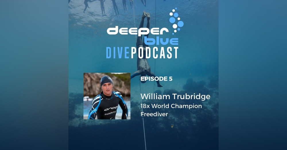 18x World Champion Freediving Legend William Trubridge, and Hollywood Freedive Trainer Kirk Krack