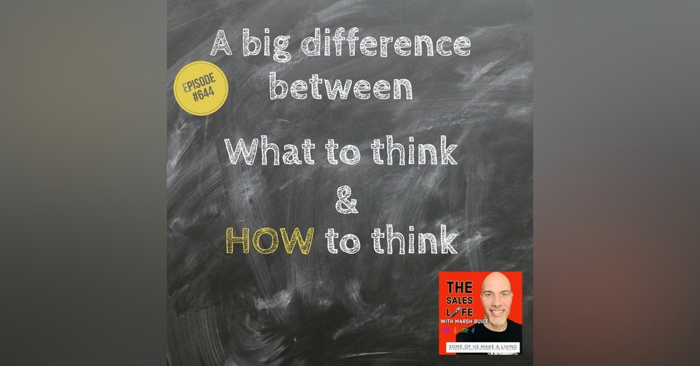 644. A BIG difference between WHAT to think & HOW to think. 📖 W1NNING by Tim Grover
