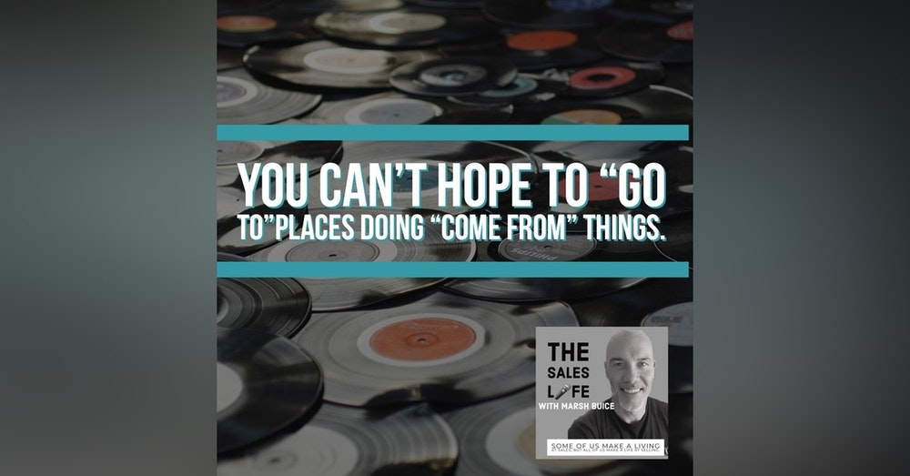 623. You can't GO TO new places doing COME FROM things.