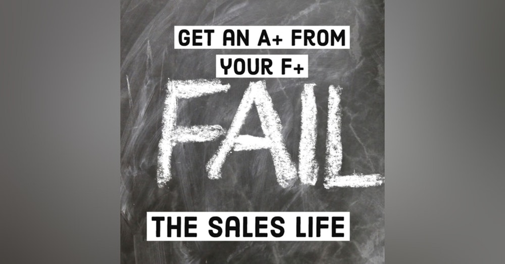 536. Get an A+ out of your F's   Discovering the advantages when you fail.